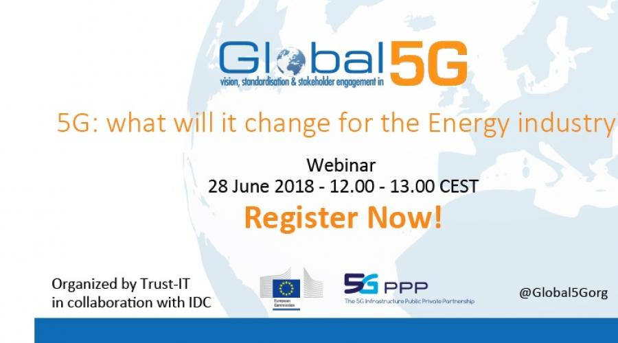 Webinar - 5G: What will it change for the energy industry ...